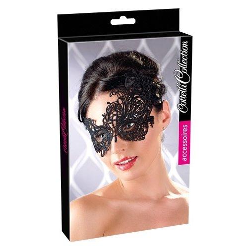Cottelli Jewels Betoverend Zwart Masker