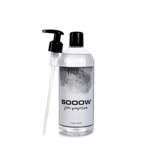 SOOOW Glide Sensation 500 ml. (inclusief GRATIS doseerpomp!)