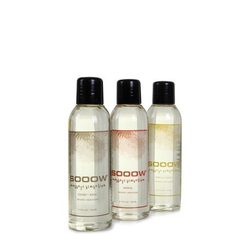 SOOOW SOOOW Massage Sensation Trio 3 x 150 ml.