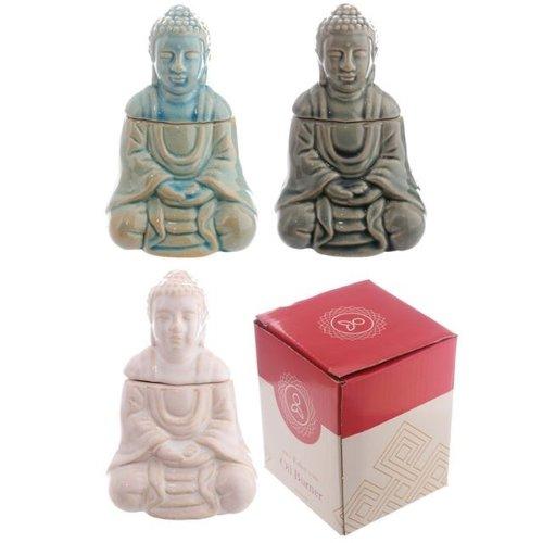 No Brander, keramiek zittende boeddha