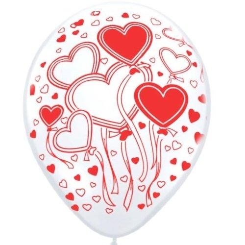No Ballonnen Romantiek Assorti 31 cm!