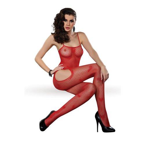 Livia Corsetti Hartjes catsuit Titania (rood)