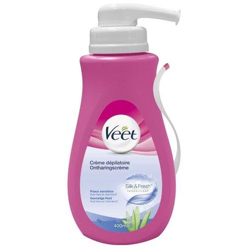 Veet Veet ontharingscreme voor de Gevoelige huid (roze)