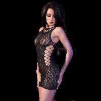 Sexy zwart mini jurkje