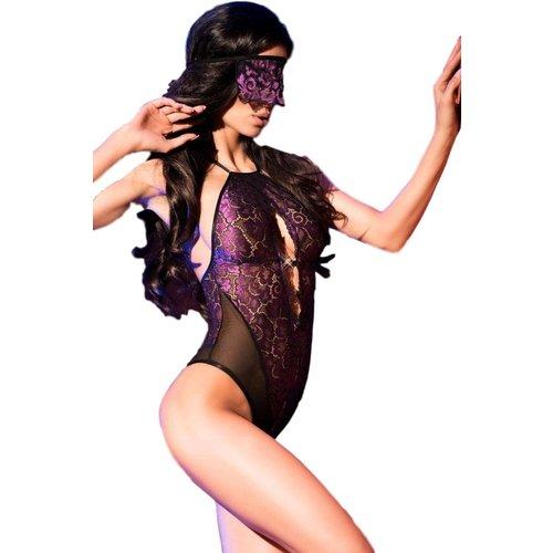 Chilirose Body met bijpassende masker