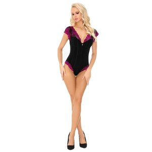 CoFashion Zwarte body Lorrie