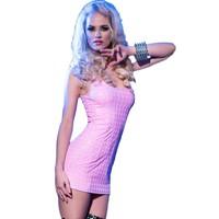 Roze 3D jurkje