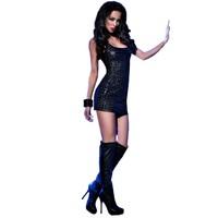 Zwart 3D jurkje