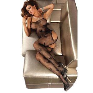 Livia Corsetti Hartjes catsuit Titania (zwart)