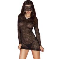 Elegant zwarte mini jurk  OP=OP