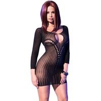 Sexy zwarte mini jurk