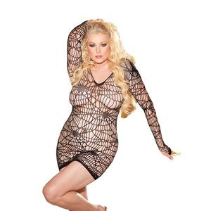 Shirley of Hollywood H.O.T. Spiderweb Dress