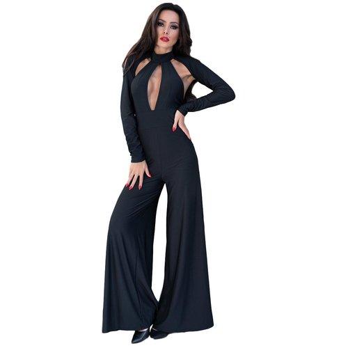 Chilirose Sexy zwarte jumpsuit
