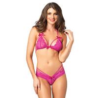 Pink  lingerie-set