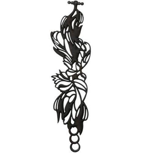 Batucada Bird Armband Zwart