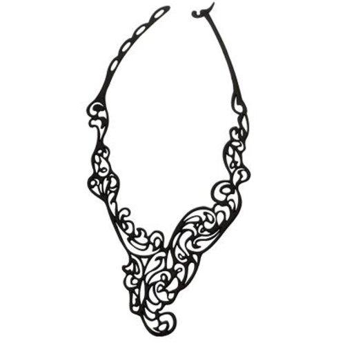 Batucada Baroco Halsketting Zwart