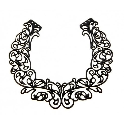 Batucada Baroco Short Halsketting Zwart