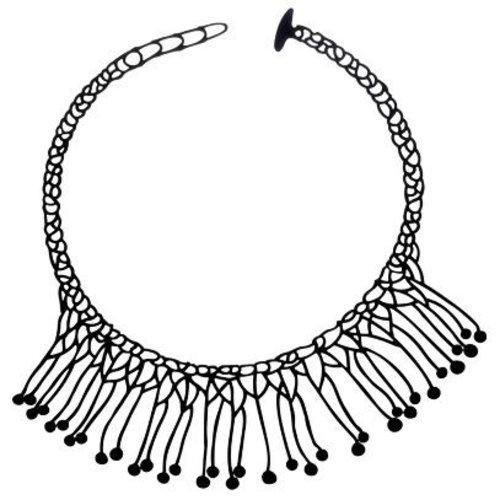 Batucada Di Maccio Halsketting Zwart