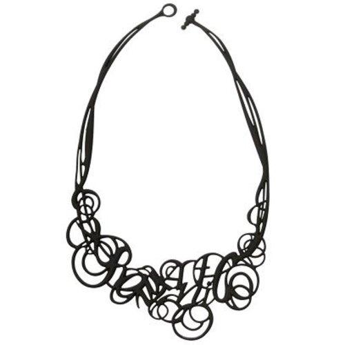 Batucada Romantic Halsketting Zwart