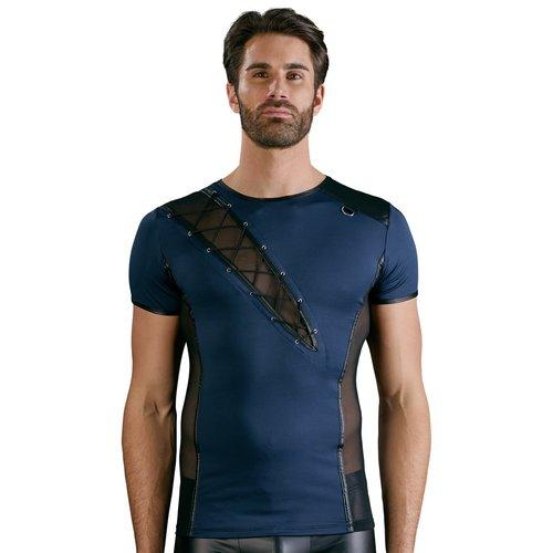 NEK Blauw / zwart shirt