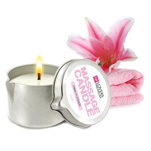 Overig Massagekaars - Pink Flower