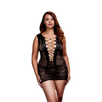 Baci:  netstof mini-jurk