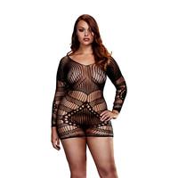 Baci:  mini-jurk met mouwen