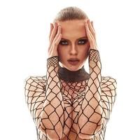 Forca: zwarte net body