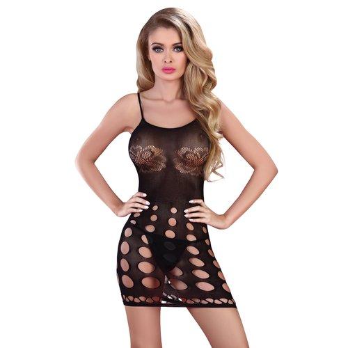 Livia Corsetti Afraima: sexy zwart jurkje