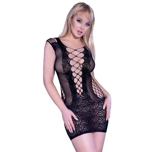 Chilirose Sexy zwart jurkje