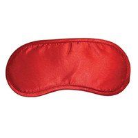 Rode Satijnen blinddoek