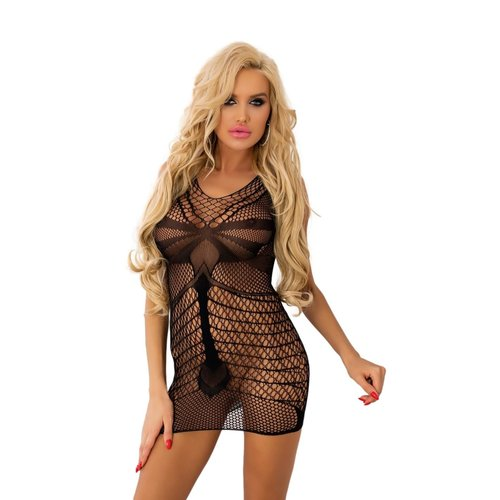 Livia Corsetti Laureama: sexy zwart netjurkje