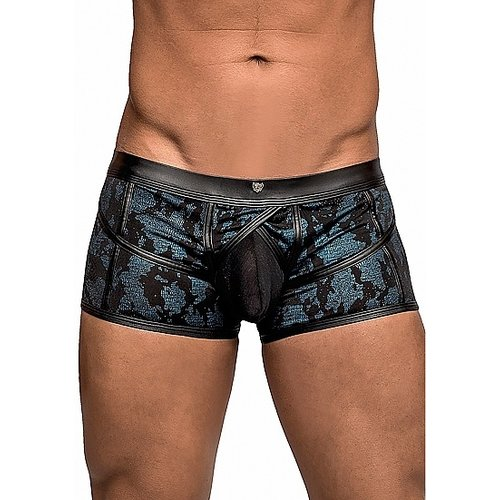 Male Power Zwart / blauwe boxershort