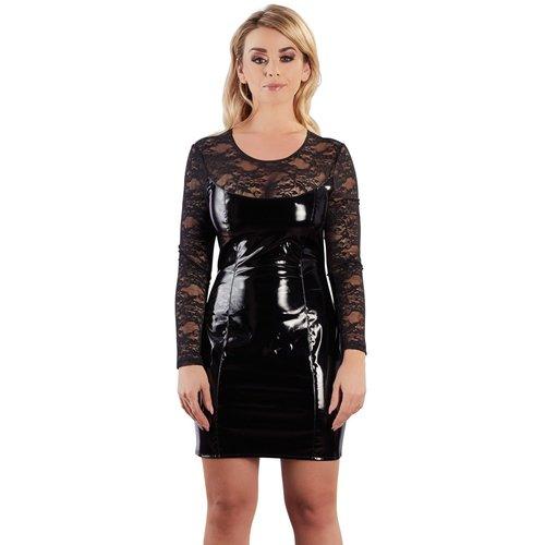 Black Level Lak jurk met kant