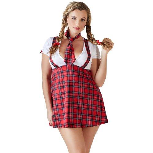 Cottelli Collection Sexy schoolmeisjes outfit met stropdas