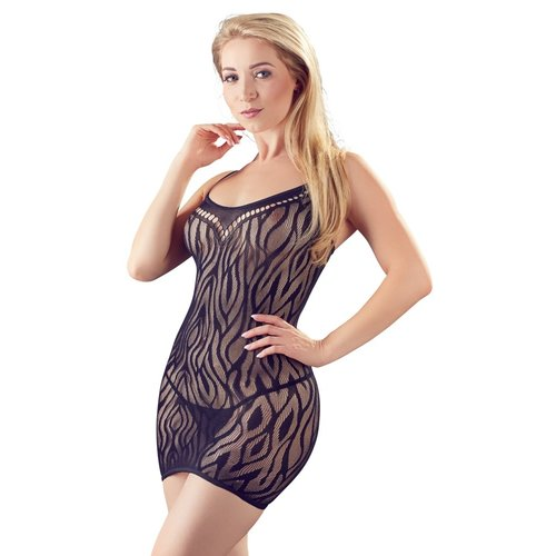Sexy mini-jurk met animal stripe
