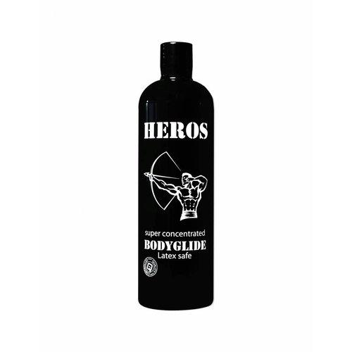 Heros Silicone massageolie / glijmiddel 500 ml.