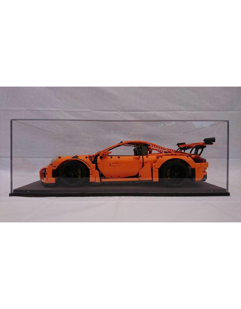 lakea Vitrine voor 1:8 schaalmodellen Zoals de LEGO® Technic Porsche 911 GT3 RS