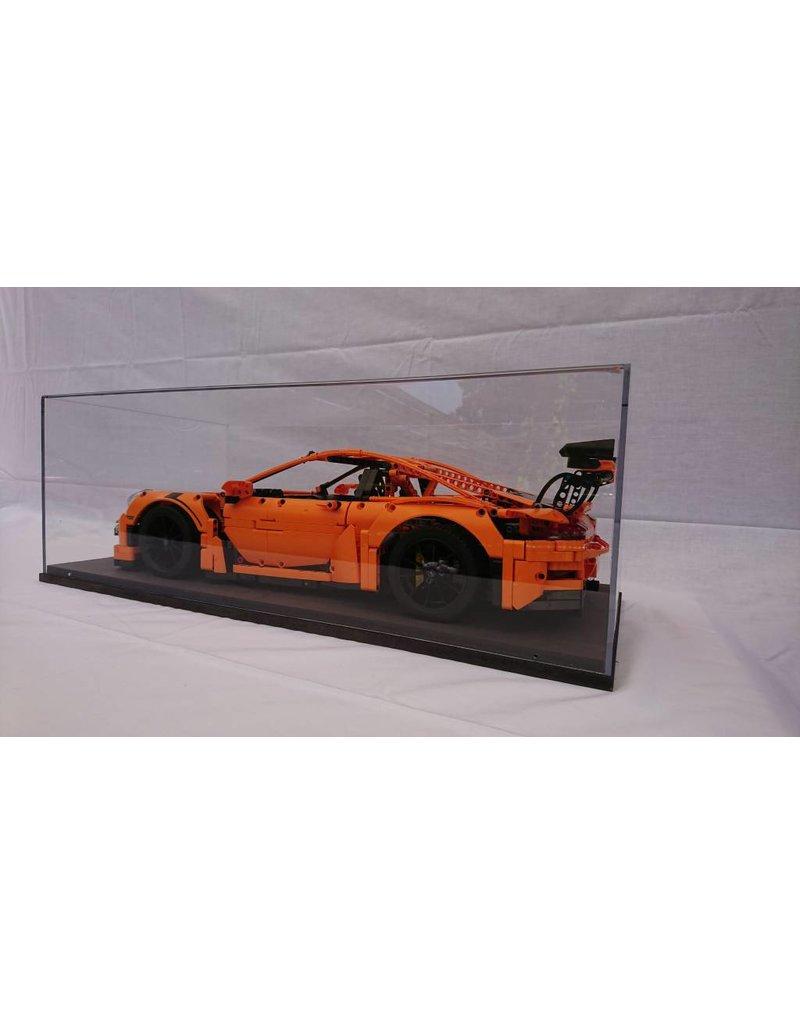 vitrine f r 1 8 modell lego technic bugatti chiron 42083. Black Bedroom Furniture Sets. Home Design Ideas