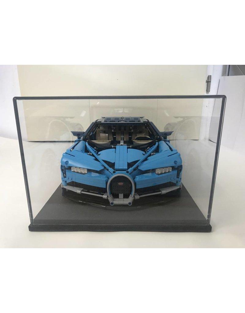 vitrine für 1: 8 modell lego® technic bugatti chiron 42083 -