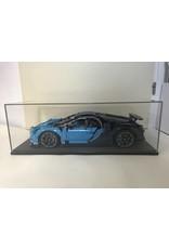lakea Vetrina per modello in scala 1: 8 LEGO® Technic Bugatti Chiron 42083 - Grande