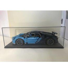 lakea Vitrine voor 1:8  LEGO® Technic Bugatti Chiron 42083  - Groot