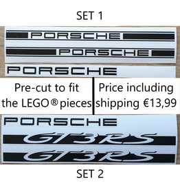 Lakea Sticker for LEGO® Technic PORSCHE GT3 RS