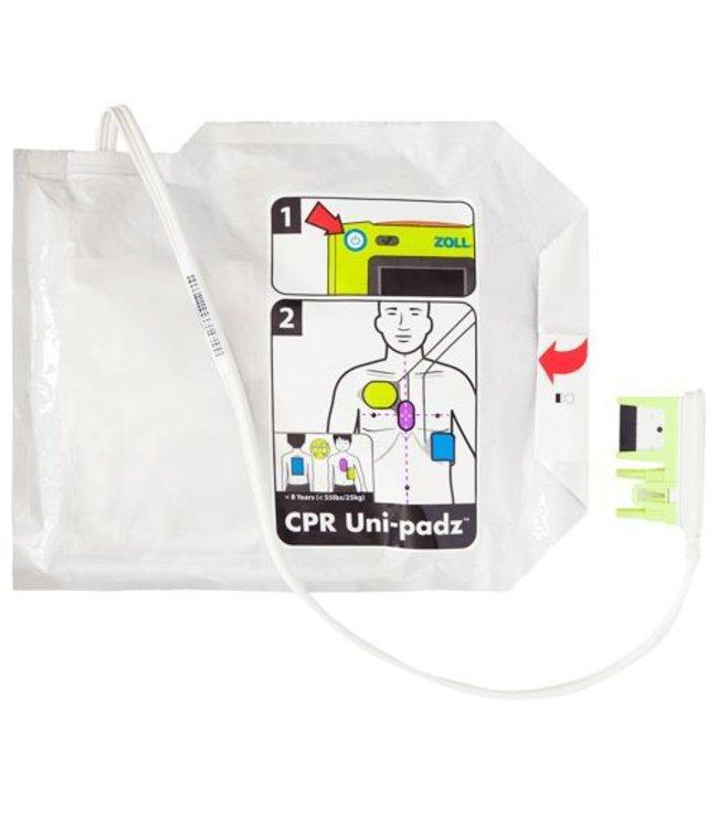 ZOLL Uni Padz voor de Zoll AED 3, ook geschikt voor kinderen