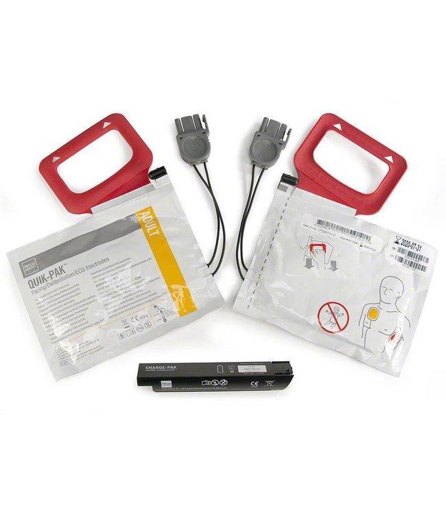 Physio-Control Elektroden (2) en batterij voor de Lifepak CR Plus
