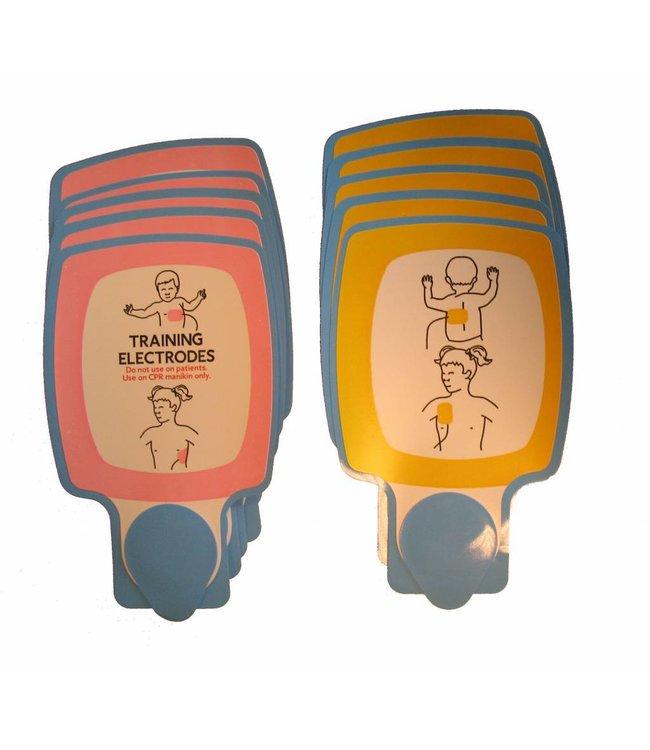 Physio-Control Vervabgingsplakkers kinderen voor de CR-T trainer