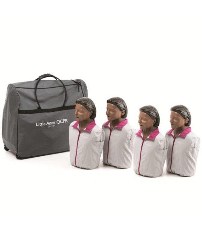 Laerdal Laerdal Little Anne QCPR 4-pack donkere huid