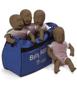 Laerdal Laerdal Baby Anne 4 pack donkere huid