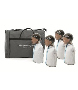 Laerdal Laerdal Little Junior QCPR 4-pack donkere huid