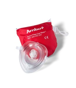 Ambu Ambu ResCue Mask in rode softcase (5 stuks)